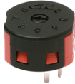 Miniature ROTA-SLIDE® Rotary Switch