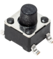 4.5 x 4.5 mm Tact Switch for SMT