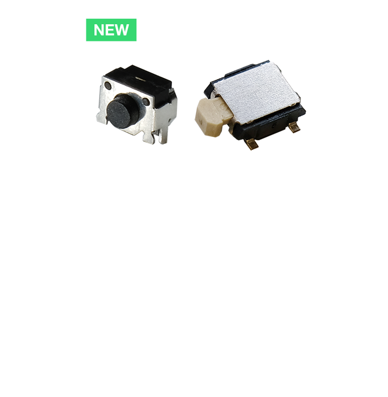 C&K Introduces New Products, PTS845 & PTS850, Compact Side-Actuated Tact Switches for Portable Devices