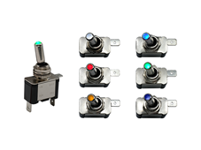 ILT Series - The First Illuminated Toggle Switch in the C&K Portfolio