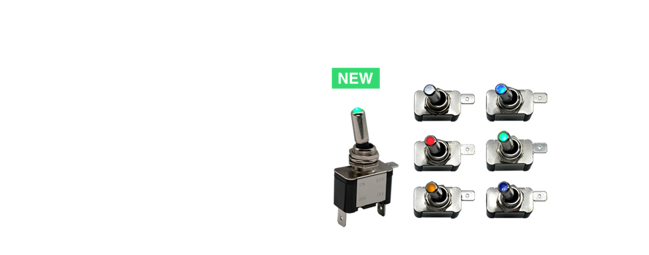 ILT Series - New Illuminated Toggle Switch Added to the C&K Portfolio